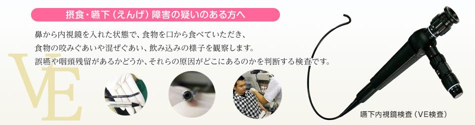 嚥下内視鏡検査(VE検査)